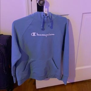 Champion blue hoodie